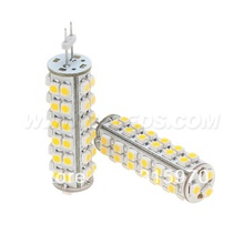 Free Shipment!!! 5pcs/lot Led G6.35 Corn Bulb 51leds 3528SMD White Warm White 12VDC 12VAC 24VDC 24VAC 3W