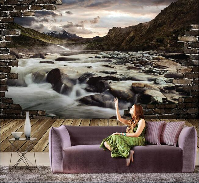 3d wallpaper custom mural non-woven 3d room wallpaper 3 d mountain rivers landscape setting wall photo 3d wall murals wall paper custom 3d photo wallpaper mural nordic cartoon animals forests 3d background murals wall paper for chirdlen s room wall paper