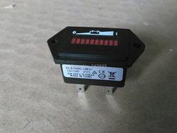 12 V Hour Meter Medidor de Bateria Indicador de Bateria Para Curtis 906 T 12 HNDAO Tipo Para Empilhadeira Elétrica Carrinho de Golfe Paleteira