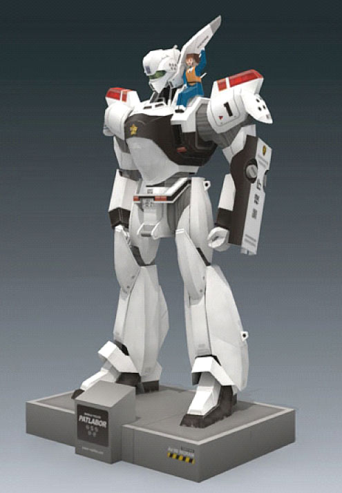 Mobile Police PATLABOR Av-98 Ingram-1 Machine 3D Paper Model DIYToy