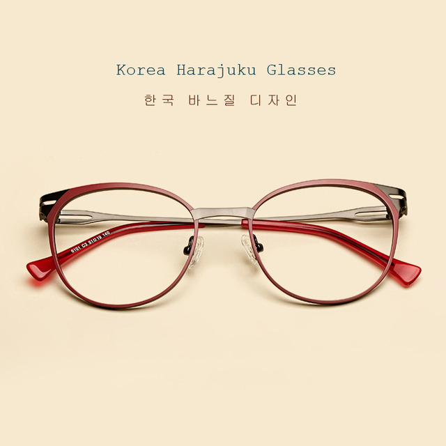 422d6706080 LIYUE New Brand women optical frame Computer Reading Glasses Eyewear Frame  Prescription glasses for myopia Metal