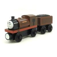 W86 Free Shipping RARE Original Bertram Thomas And Friends Wooden Magnetic Railway Model Train Engine Boy