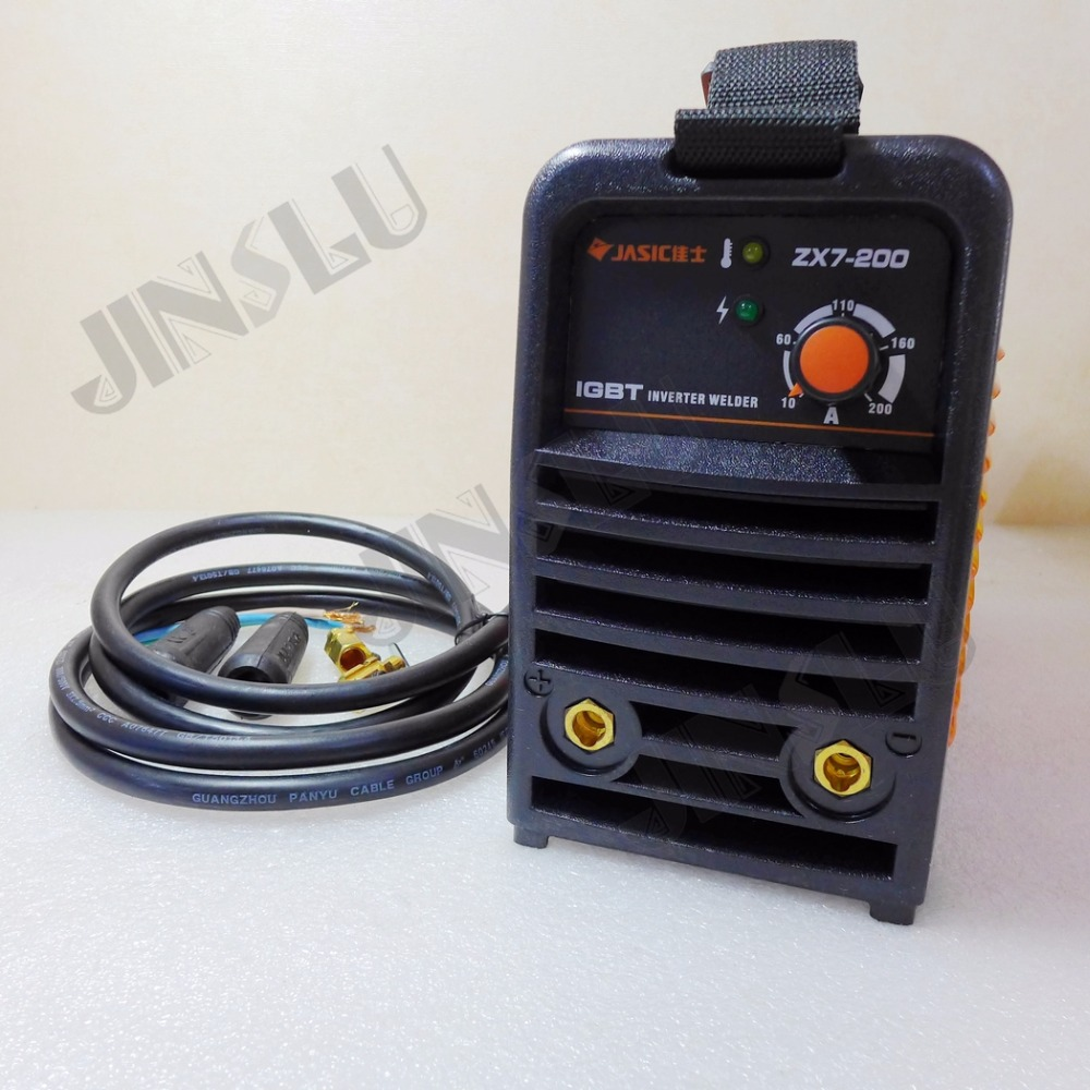 220V ARC200 ZX7-200 welder IGBT DC Inverter MMA Welding Machine With 3M Earth Clamp new 220v welding tools igbt inverter dc mma welder machine equipment device suitable 2 0 electrode with accessory and eyes mask