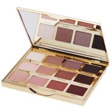 Professional in Eye Makeup Bloom Naturals 12 цветов блеск для век матовые палитры 12×1,5 г поджаренный теплый телесный косметика