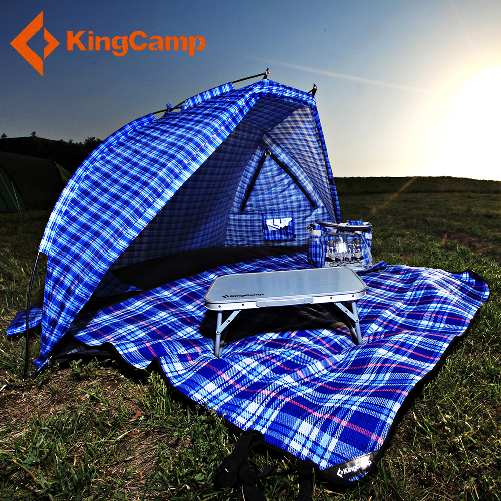 KingCamp Summer Waterproof Camping Tent 2 Person Sun Shelter Tent UV Awning Tents Outdoor Sunshelter Sunshade Beach Tent Canopy outdoor double layer 10 14 persons camping holiday arbor tent sun canopy canopy tent