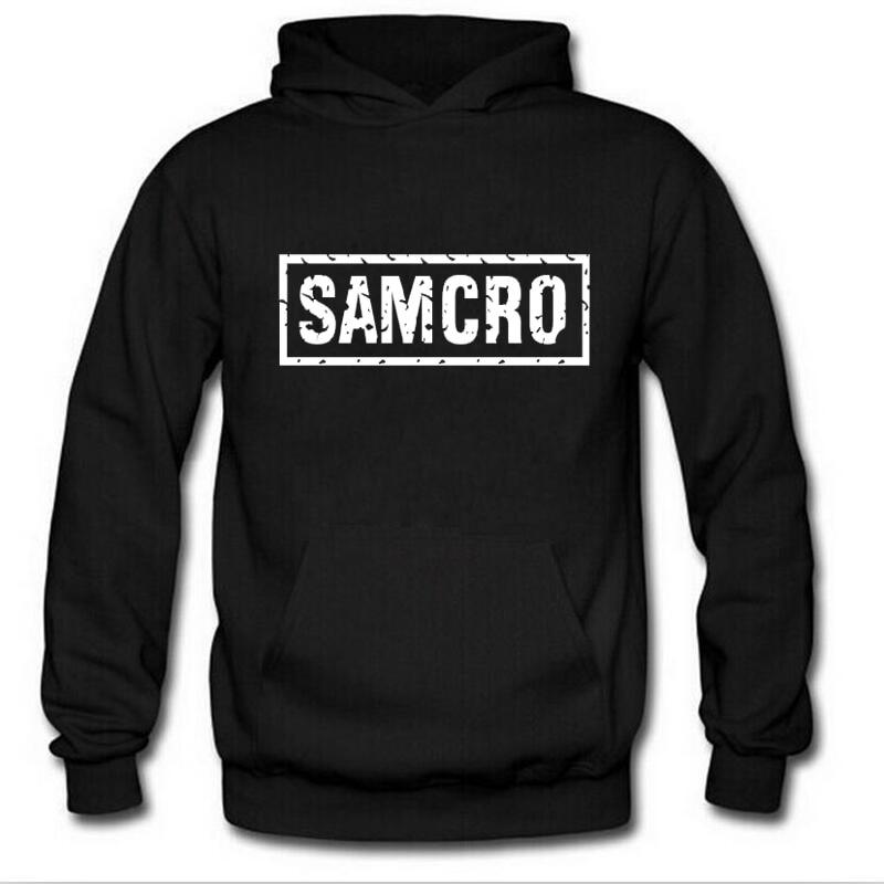 SOA Sons Of Anarchy The Child New Fashion SAMCRO Men Sportswear Hoodies Male Casual Sweatshirt Winter Fleece Hip Hop Warm Hoody