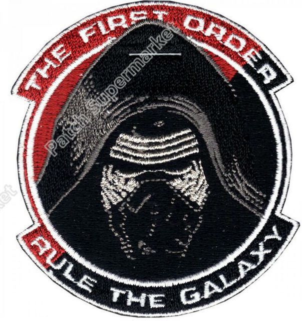 3 Star Wars The First Order Kylo Ren Galaxy Iron On Patch Tv Movie