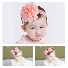 Lovely 3PCS/SET Fashion Baby Girls Headband Bow Flower Hair Band Accessories Head wear Toddler Infants