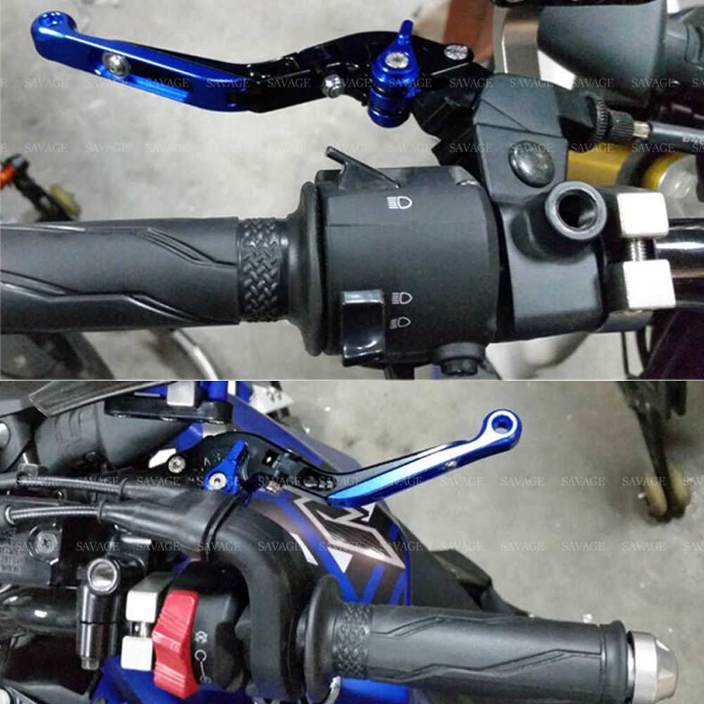 Brake Clutch Levers For YAMAHA R15 V3 2017 2018 Retro Lever Extendable  Folding Lever Motorcycle Accessories Adjustable