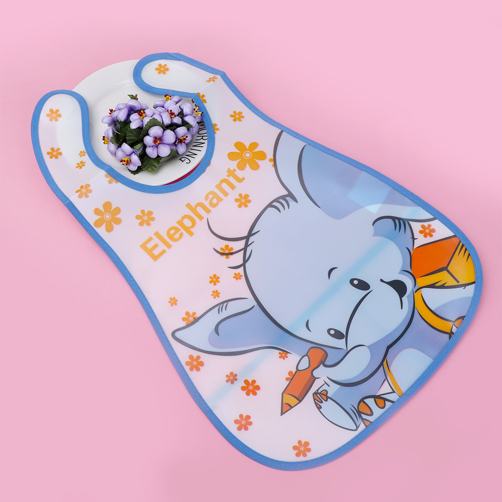 1 St Baby Eva Waterdichte Doek Voedsel Voeden Slabbetjes Leuke Cartoon Dier Patroon Handdoeken Schort Kids Feeding Accessoires