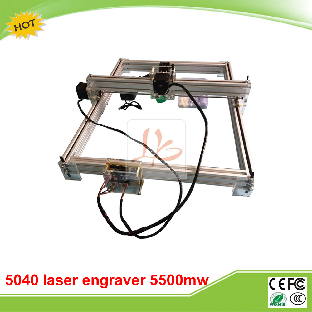 5500MW Desktop DIY Violet LY 5040 Laser Engraver working size 50*40CM free tax to RU perfect oca laminator ly 9100 for 7 inch desktop 3 in 1 multi functions layer free tax to europe