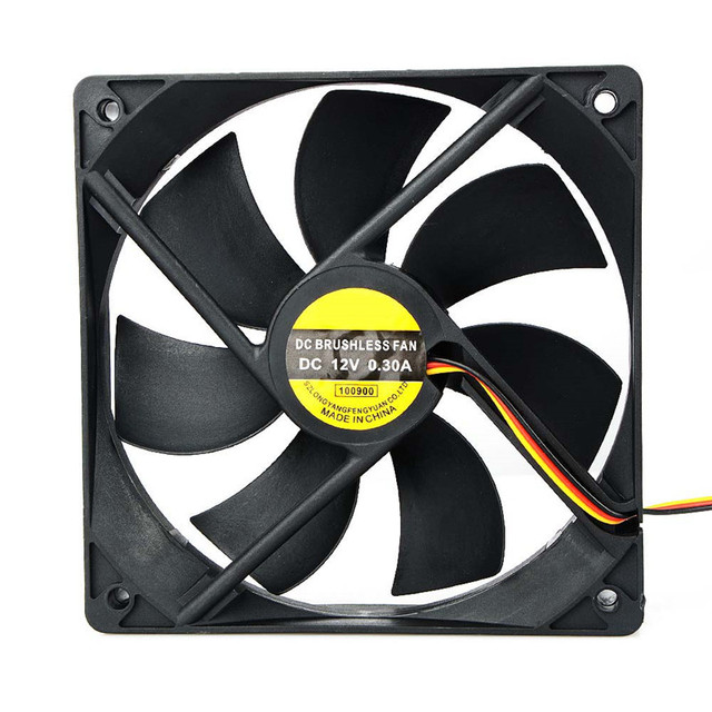 Hot Sale 120x25mm 120mm Fan 12V DC Brushless PC Computer Case Cooler 3Pin Connector Cooling Fan For CPU Radiating For Desktop PC