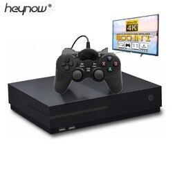 2018 novo ultra hd vídeo 4 k game console embutido 800 jogos 64 bits hdmi saída de tv retro família tv jogador de jogo para ps1/cps/gbc/sms