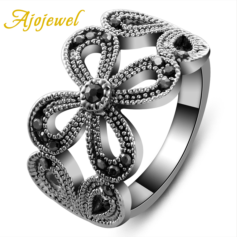 ajojewel 6 9 high quality hollow out crystal rhinestone flower designer famous brand women