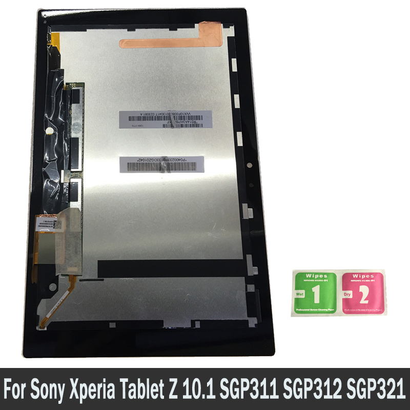 LCD Display For Sony Xperia Tablet Z 10.1 SGP311 SGP312 SGP321 Touch Screen Digitizer Sensors Assembly Panel Replacement PartsLCD Display For Sony Xperia Tablet Z 10.1 SGP311 SGP312 SGP321 Touch Screen Digitizer Sensors Assembly Panel Replacement Parts