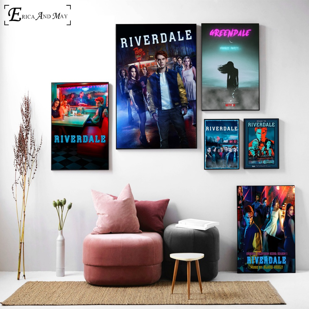 canvas painting riverdale painting canvas poster movie poster art ...
