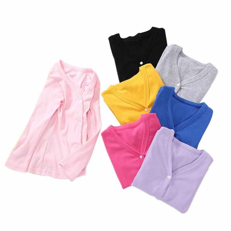 Baby Meisjes Katoenen Materiaal Bovenkleding Jassen Effen Kleur Vest Jas Kinderen \'s Kleding Kids Meisjes Jas 2-10Y