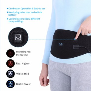 Image 2 - Electric Heating Waist Pad Waist Warmer Corset Belt Women Period Low Back Pain Relief Lumbar Support Bandage Uterus Warmer Belt