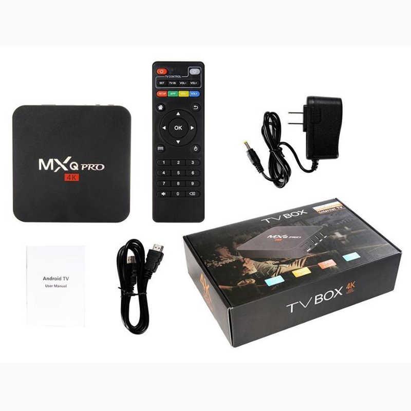 Iptv box japonia MXQ PRO RK3229 1 GB pamięci ram 8 GB EMMC z 1 rok MiTV azji iptv apk kod singapur malezja korei chiny HongKong