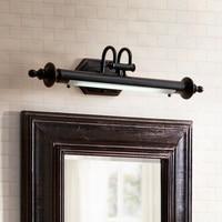 Американский зеркало лампа Ванная комната led Ретро Зеркало фар ванная комната туалет зеркало лампа кабинет комод светильник Настенный свет