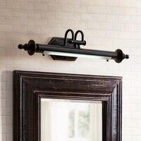 American mirror lamp bathroom led retro mirror headlight bathroom toilet mirror cabinet lamp dresser lamp wall lamp