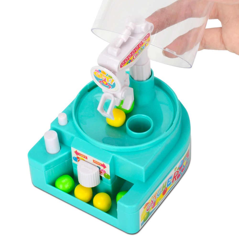 미니 쥐고 음악 클립 사탕 기계 작은 gashapon 잡기 로봇 어린이 훈련 퍼즐 트위스트 캔디 액션 장난감 피규어
