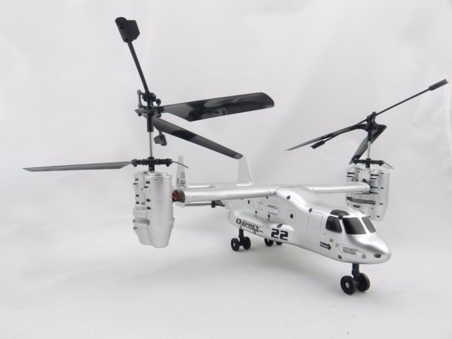 RC Helicopter U.S Airforce Transport Aircraft Osprey V22 2.4G 4 Channel Remote Control Helicopter Model RTF Electronic Toy