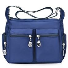 Handbags Crossbody-Bags Nylon Canta Tote Main Female Designer Women Brands Famous Bolsa