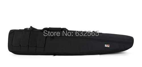 ФОТО Free Shipping! 120cm airsoft carrying long cases nylon magazine for hunting GC-010 BLACK