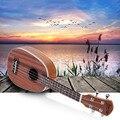 """High Quality 21"""" Ukulele Pineapple-shaped Soprano Ukulele Durable Sapele Ukelele Matte 4 Nylon Strings Rosewood Fingerboard"""
