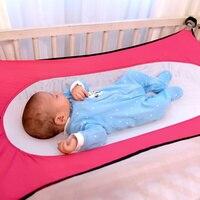 Detachable Portable Hammock Baby Bed Portable Foldable Crib Bed Indoor Outdoor Hammock Children Crib Hanging Seat