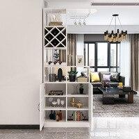 Современный минималистский Multi функция один выставочная модель с отделениями отель Гостиная коммерческая мебель бар винный шкаф украшения