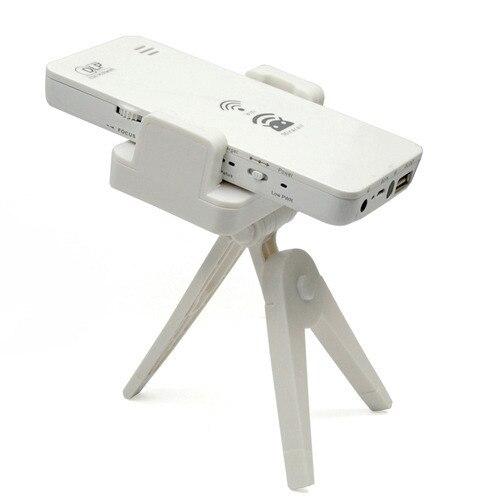 SP-1200W Mini DLP WIFI Wireless HD 1080 P Proyector de Cine En Casa para el Teléfono Celular Para PC Smartphone para iPhone Android laptop