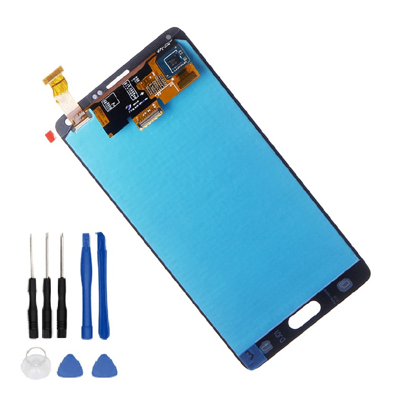 Tested Full LCD For Samsung Galaxy Note 4 N910 Display Touch Screen Digitizer Assembly N910A N910F N910H+Tools
