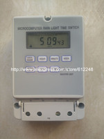 220VAC 25A Micro Computer Auto Ringer Digital Bell Program Bell Controller School Bell Programmable TIMER SWITCH F
