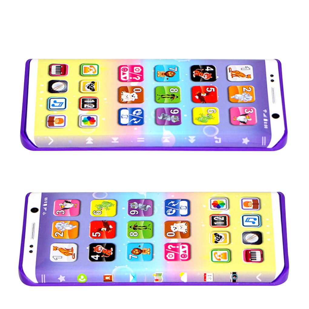 Educational Baby Phone Toy Simulator Music Phone Touch Screen Children Toy Electronic Learning Kids Gift Learning Toy Phone Toy