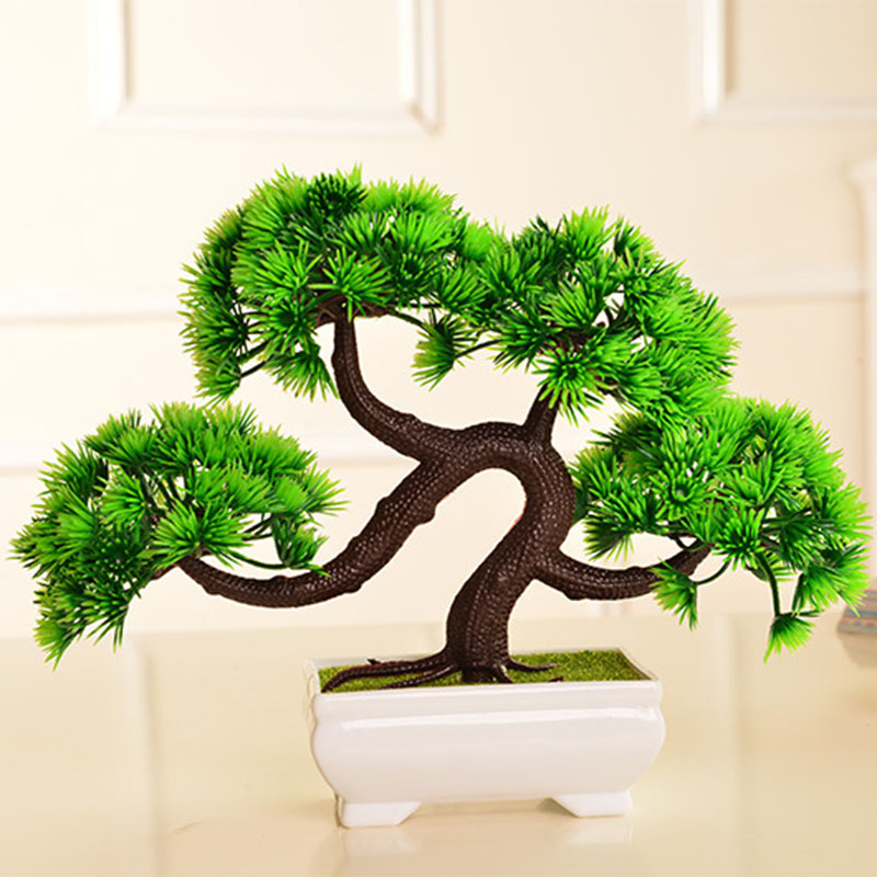 Kunstplanten Bonsai Groen Gras Plastic Plant Bloemen Bonsai Voor Huis Tuin Decoratie Kunstmatige Plant Fake Plant Bonsai Wedding Home Decoration Plant Fakefake Flowers Aliexpress