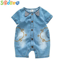 Sodawn 2019 Infant Clothes Unisex Baby Clothing Cute Cartoon Giraffe Rainbow Baby Long Sleeve Baby Suit Fashion Children Clothes