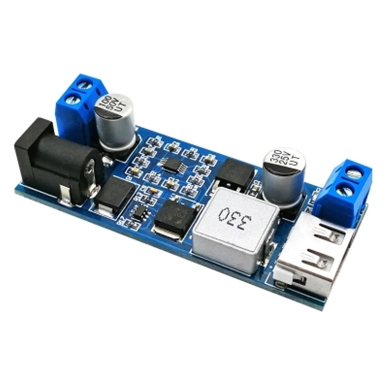 DC 5V 6A 30W step-down power supply module buck module 12V24V to 5V power supply USB charging 5A high power