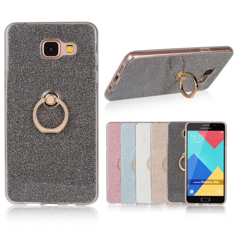 For Samsung Galaxy A5 2016 2017 Phone Case Cover Ring Case Shining Shell Soft Hoesje Capinha Etui Carcasa Coque Capa A510F A520F
