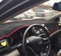 Dashmats car-styling accesorios tablero de instrumentos cubierta para honda city 2008 2009 2011 2010 2012 2013 2015 2014