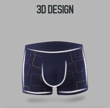 4pcs/lot Top Quality Boxers Modal Underwear Male Box Plus Big Size 4XL/5XL/6XL/7XL Boxer Shorts Men's panties bamboo fiber