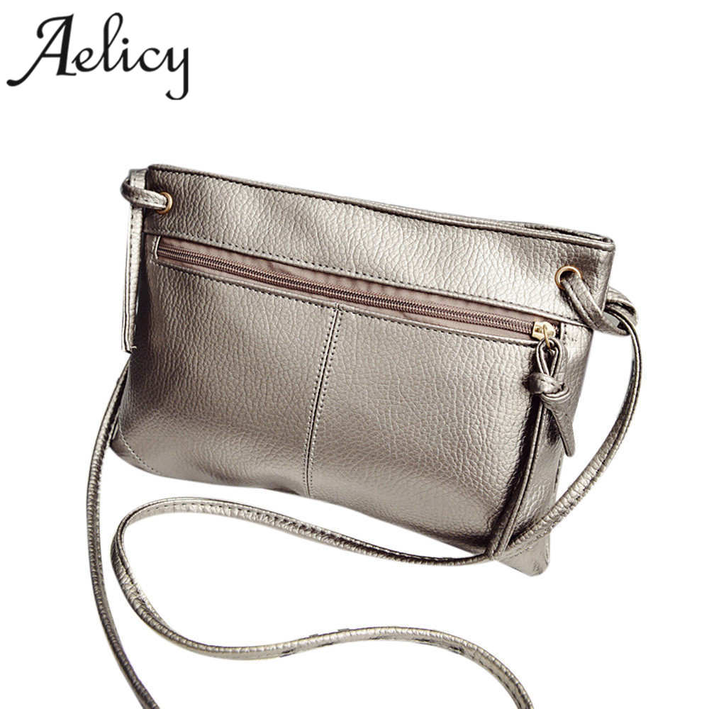 Aelicy Fashion Casual PU Leather Women Shoulder Bag Crossbody Bag Small Vintage Womens Handbag Messenger Bags bolsa feminina