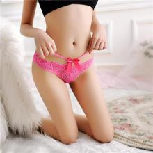 Womens Sexy Lace Briefs Panties Thongs G-string Lingerie Underwear Low Waist Sexy Invisible Panties Briefs Women Underpants
