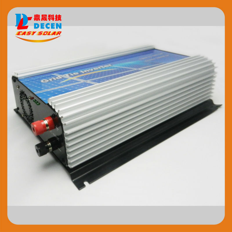 MAYLAR@ DECEN@ 22-60v 1000W Solar Pure Sine Wave Grid Tie Inverter,Output 90-160VAC,50Hz/60Hz, For Alternative Energy maylar 10 5 30vdc 500w solar grid tie pure sine wave power inverter output 90 140vac 50hz 60hz for home solar system