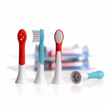 New 4pcs HX6034 Generic Electric Sonic Replacement Brush Heads Fits For Philips Sonicare Toothbrush Heads Kids Soft Bristles