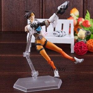 Image 5 - Figma 352 personagem do jogo tracer figura figura de ação pvc joint brinquedo móvel figma tracer boneca figurinhas