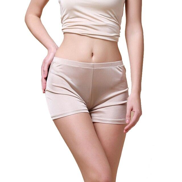100% Шелк женские Трусики Женщины Бесшовные Трусики Дамы Sexy Underwear Femme Белье Calcinh Calzoncillos Женщина Трусы
