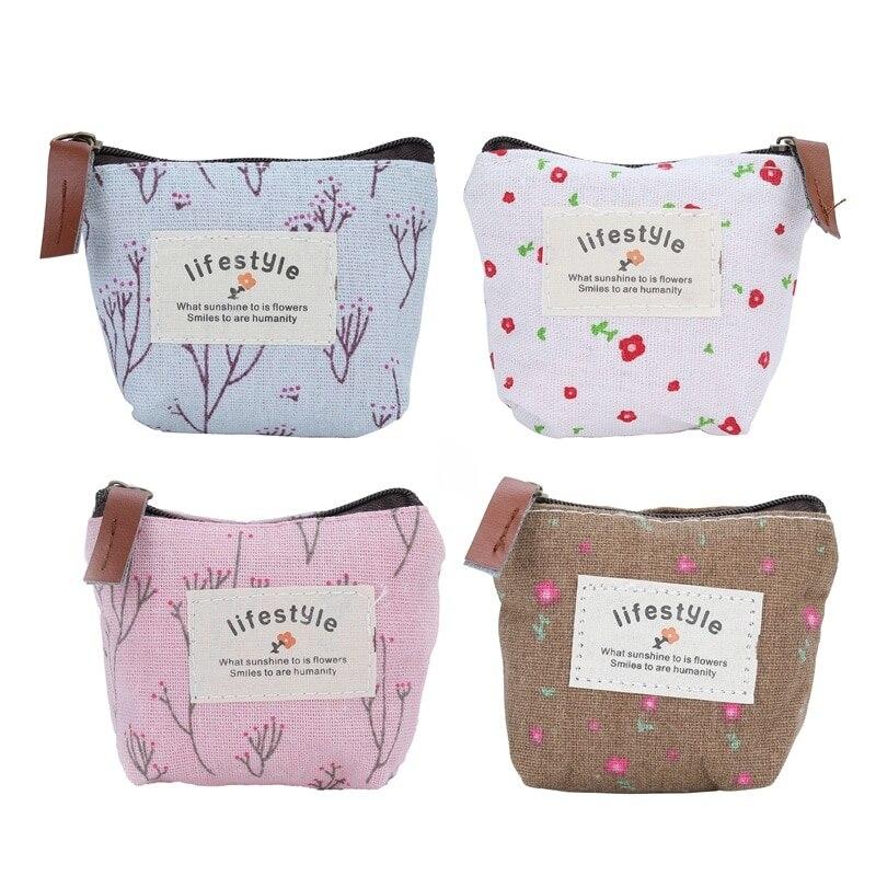 Bag Organizer Purse-Holder Storage-Bags Napkins-Towel Sanitary-Napkin With Zipper Traveling