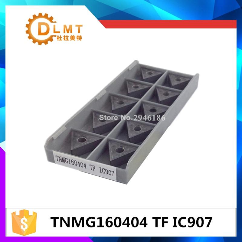 10PCS TNMG160404 TF IC907 belső forgácsoló szerszám keményfém - Szerszámgépek és tartozékok - Fénykép 1